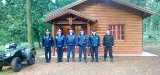 Seguridad: se puso en funcionamiento Destacamento Policial en 600 hectáreas de Iguazú