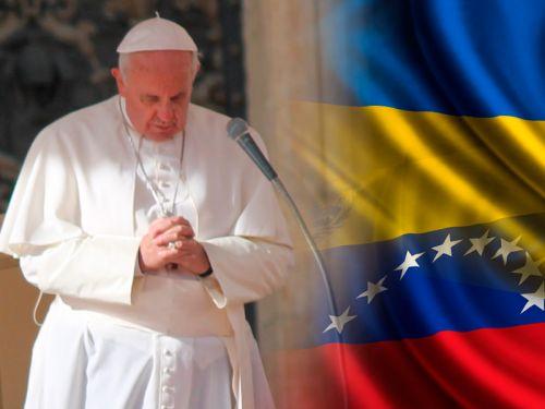 Francisco renovó su oración por la «amada Venezuela»