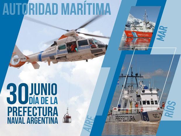 Hoy se celebra el Día de la Prefectura Naval Argentina
