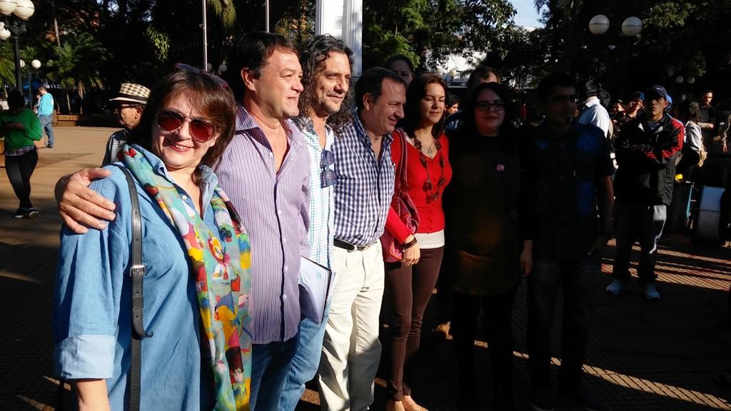 El partido Agrario y Social presentó sus candidatos para las elecciones