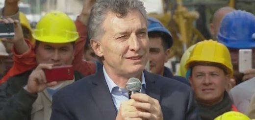 """Macri: """"Si cada argentino hace lo mejor que puede, el país va a crecer"""""""