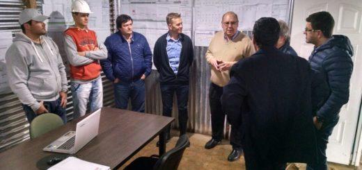 LUG Light Factory visitó las obras del Parque Industrial Posadas