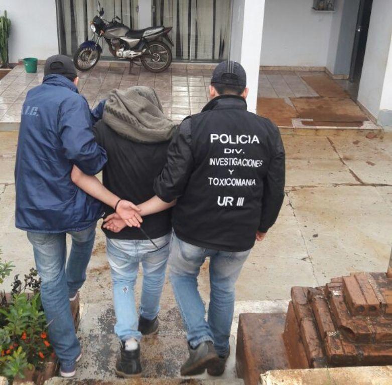 Detuvieron en Bernardo de Irigoyen a otro de los presuntos autores materiales del crimen del atleta Maciel