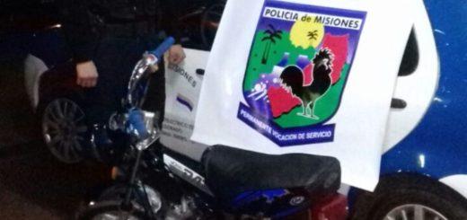 Eldorado: detienen a dos malvivientes intentando arrancar una moto con los cables