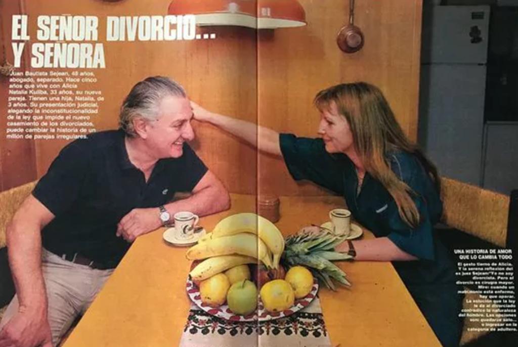 A 30 años de la Ley de Divorcio: la historia de amor que cambió el Código Civil