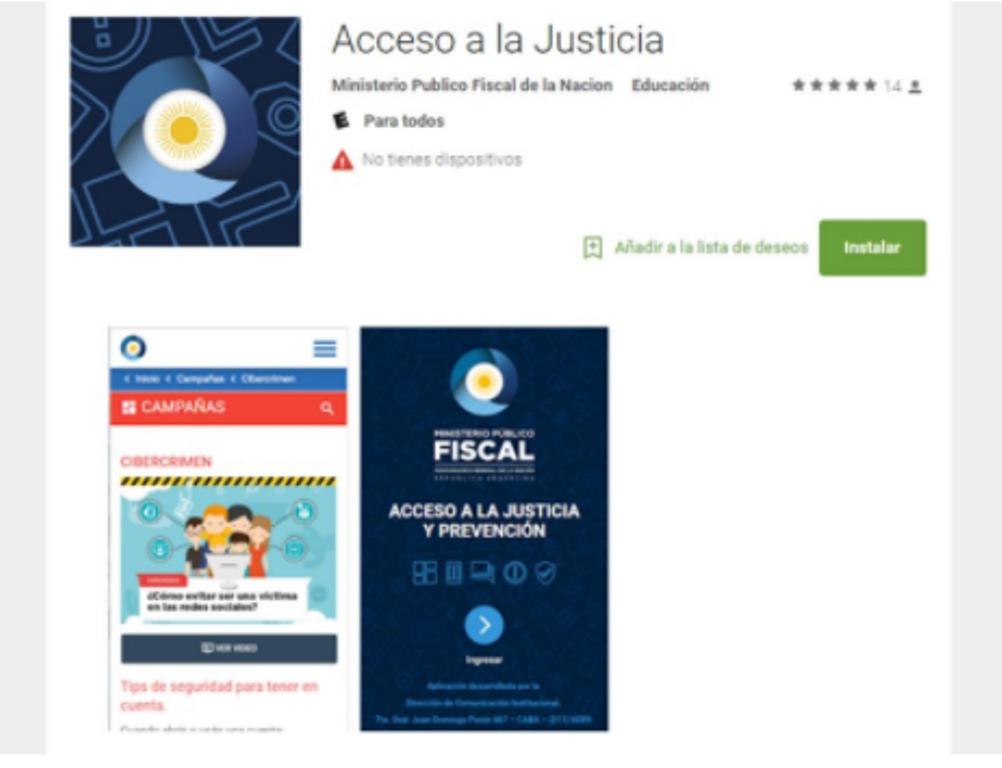 Lanzan una aplicación para ofrecer asistencia legal