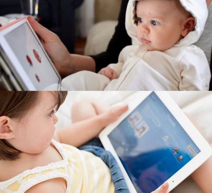 Un estudio revela efectos negativos de smartphones y tabletas sobre el desarrollo del habla en niños