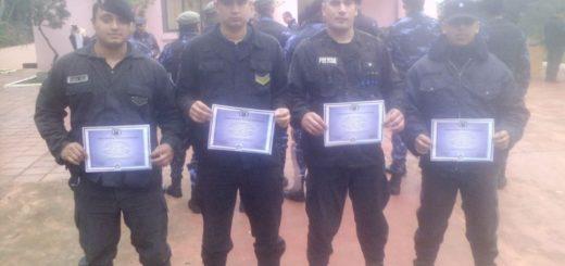 En Eldorado reconocieron a personal policial por su destacada labor