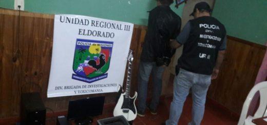 Eldorado: detuvieron a joven vinculado a robos en una radio y una iglesia