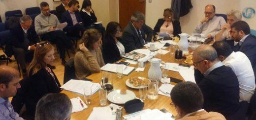 El presidente del IPS, Carlos Arce, participó en asamblea del COSSPRA