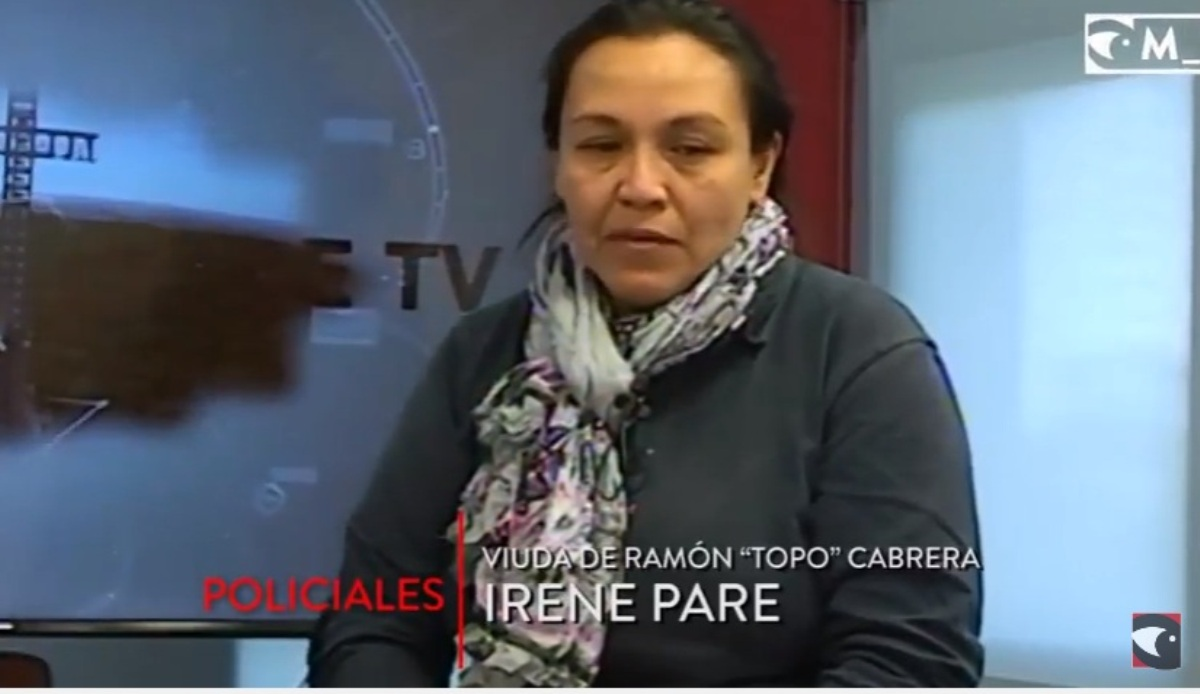 «Queremos que Rocío Santa Cruz se presente y dé la cara en el juicio», sostuvo la viuda del municipal «Topo» Cabrera