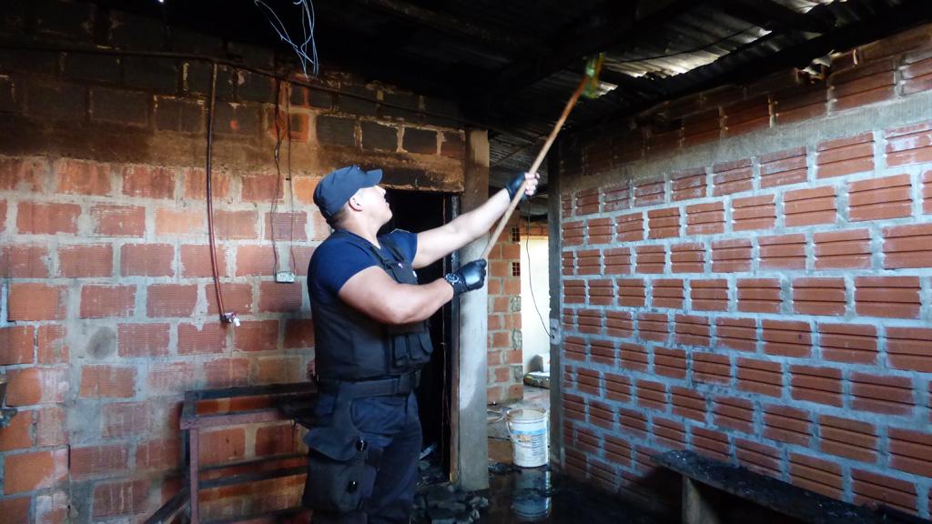 Posadas: misterioso incendio en la casa donde mataron a Daniel Padilla