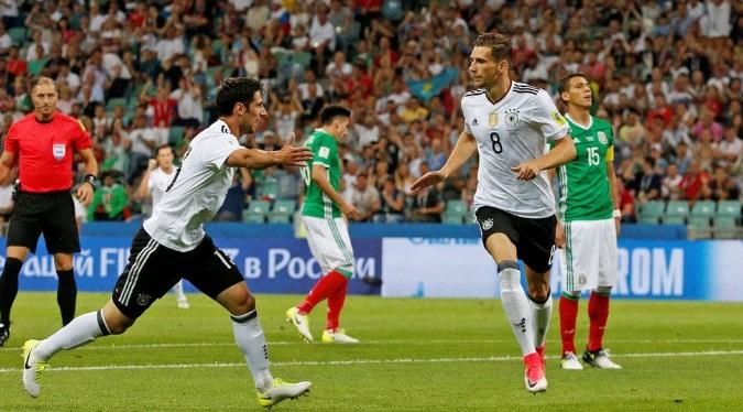 Con el arbitraje de Pitana, Alemania se impuso ante México y jugará la final de la copa Confederaciones