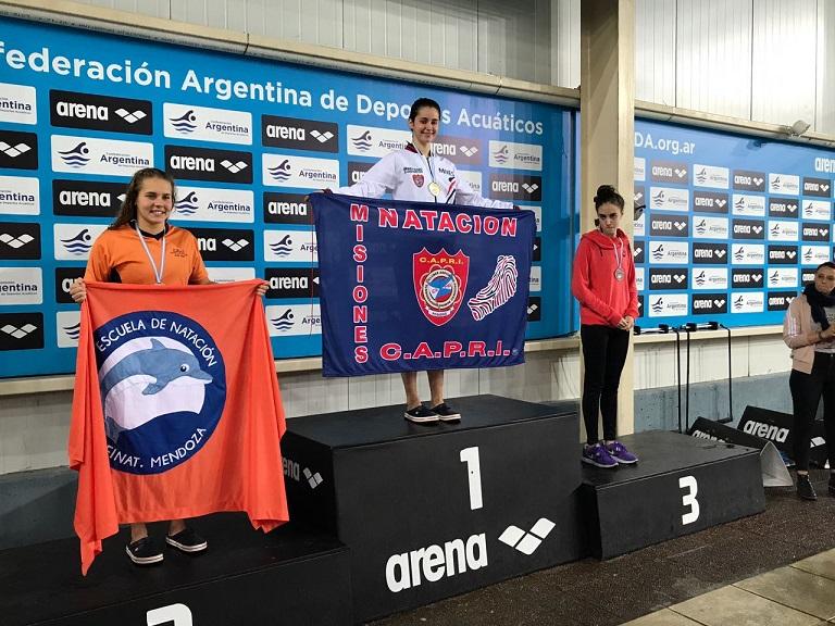 Natación: Astrid Olmedo sigue cosechando títulos