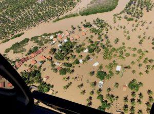 Suman 80 mil damnificados y 11 muertos por lluvias en Brasil