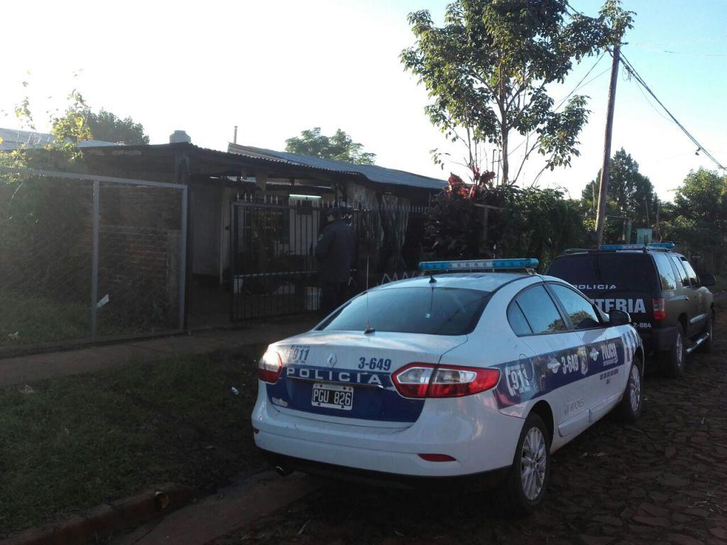 Ahorcaron a un joven en una casa del barrio San Isidro de Posadas