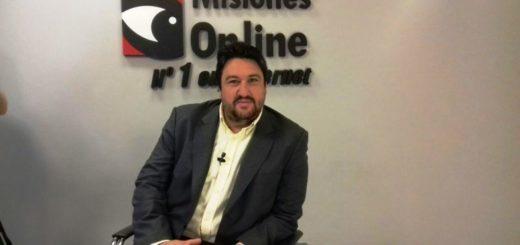 """Closs en los estudios de Misiones OnlineTV : """"Vamos a imponer la visión misionerista en la campaña"""""""