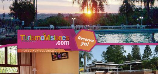 Turismo Misiones te ofrece una estadía inolvidable en el Hotel ACA de Eldorado