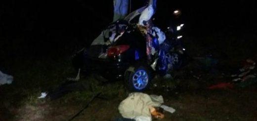 Corrientes: Choque frontal en la ruta 14 deja tres muertos