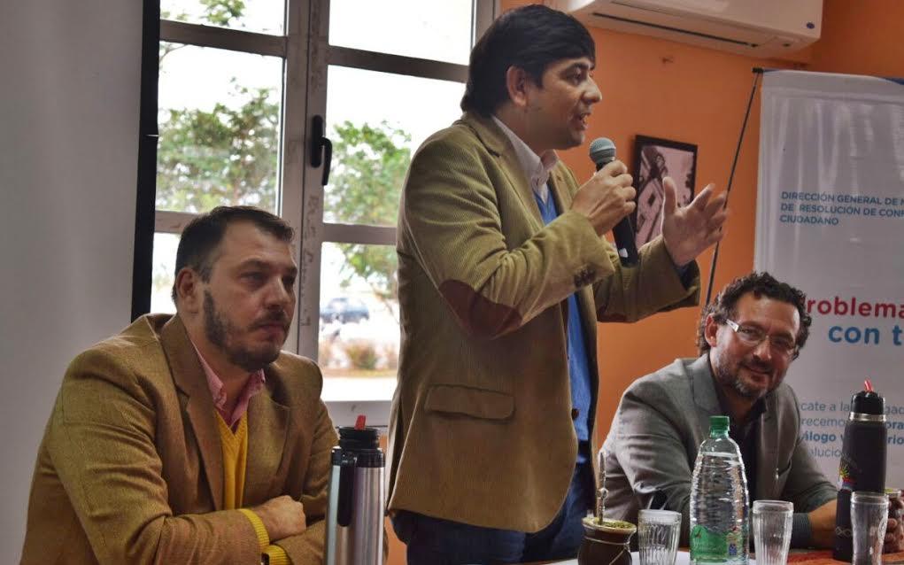 """Losada: «Somos una ciudad modelo en el país con nueve Centros de mediaciones barriales"""""""