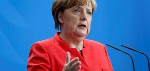 Angela Merkel se reunió con empresarios, en su primera actividad en la Argentina