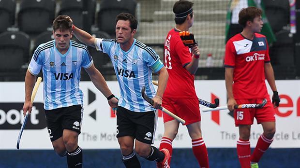 Los Leones debutaron en la Liga Mundial con un ajustado triunfo ante Corea del Sur
