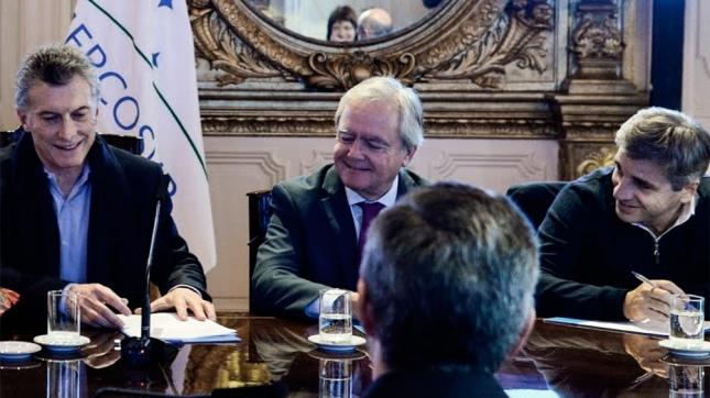 Macri encabezó una reunión de Gabinete en la Casa de Gobierno