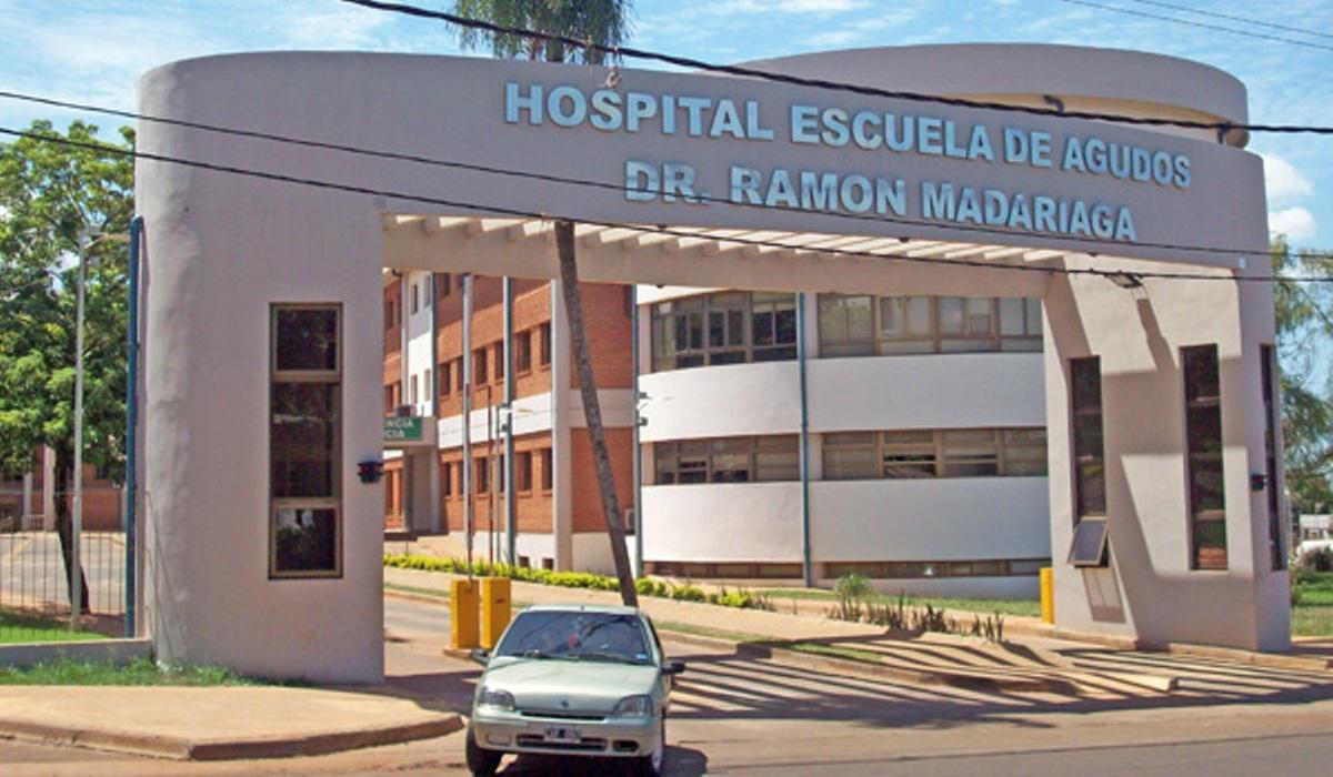 Un joven enfermero sufrió graves quemaduras en un accidente en un geriátrico posadeño
