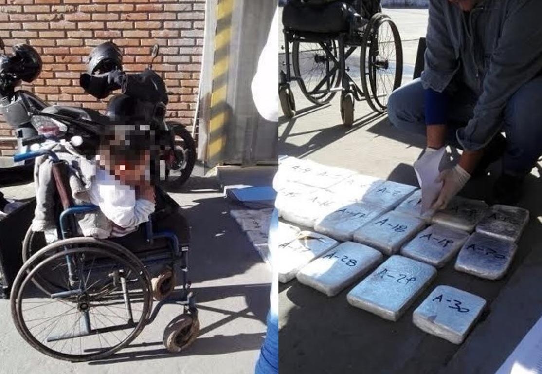 Cae discapacitado motriz al retirar encomienda con droga que había sido enviada desde Posadas