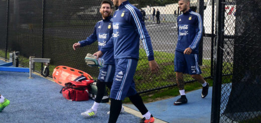 Messi ya se encuentra entrenando a las órdenes de Jorge Sampaoli