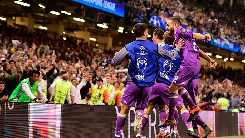 Real Madrid goleó a la Juventus y levantó su segunda Champions League consecutiva
