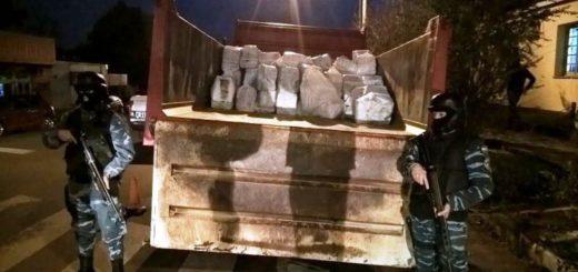 Megaoperativo: quemarán más de dos toneladas de marihuana incautada en Misiones