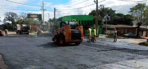 Posadas: Vialidad corta el tránsito sobre avenida Tambor de Tacuarí entre Corrientes y Lavalle