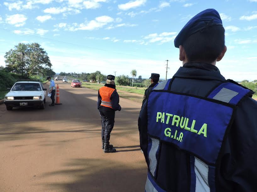 """Garupá: detenidos, licencias y motos retenidas en """"Operativo Integral de Seguridad"""""""