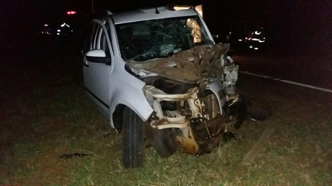 Triple choque dejó un motociclista fallecido en ruta 12 a la altura de San Ignacio