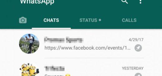¿Cómo fijar conversaciones en WhatsApp?
