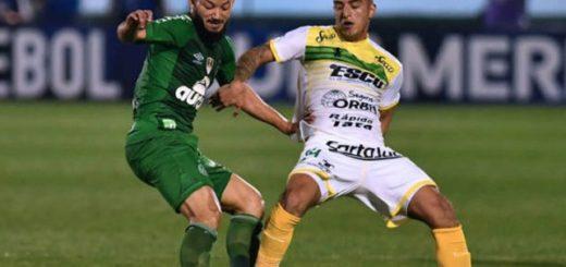 El misionero Andrés Cubas debutó en la derrota de Defensa y Justicia por Copa Sudamericana