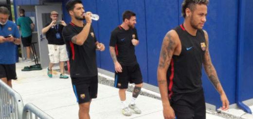 Lionel Messi y Luis Suárez convencieron a Neymar de quedarse en Barcelona
