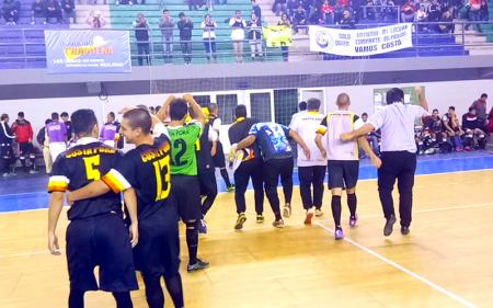 Futsal: histórico ascenso de Costa Porá en Sáenz Peña