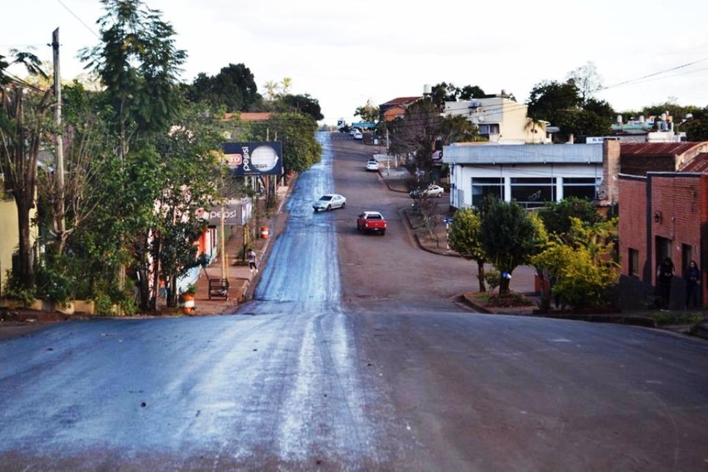 Vialidad realiza obras en distintos municipios misioneros