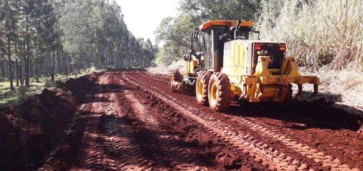 Vialidad Provincial pone en condiciones caminos rurales en la zona centro