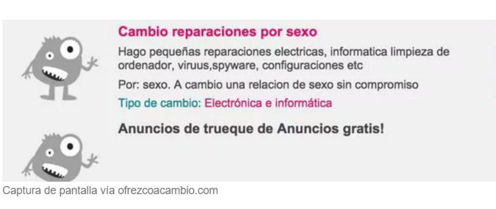 Trueque sexual en Facebook: la nueva forma de prostitución
