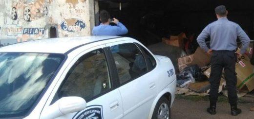 Secuestraron más de 2.200 autopartes ofrecidas ilegalmente para la venta en un negocio de Posadas