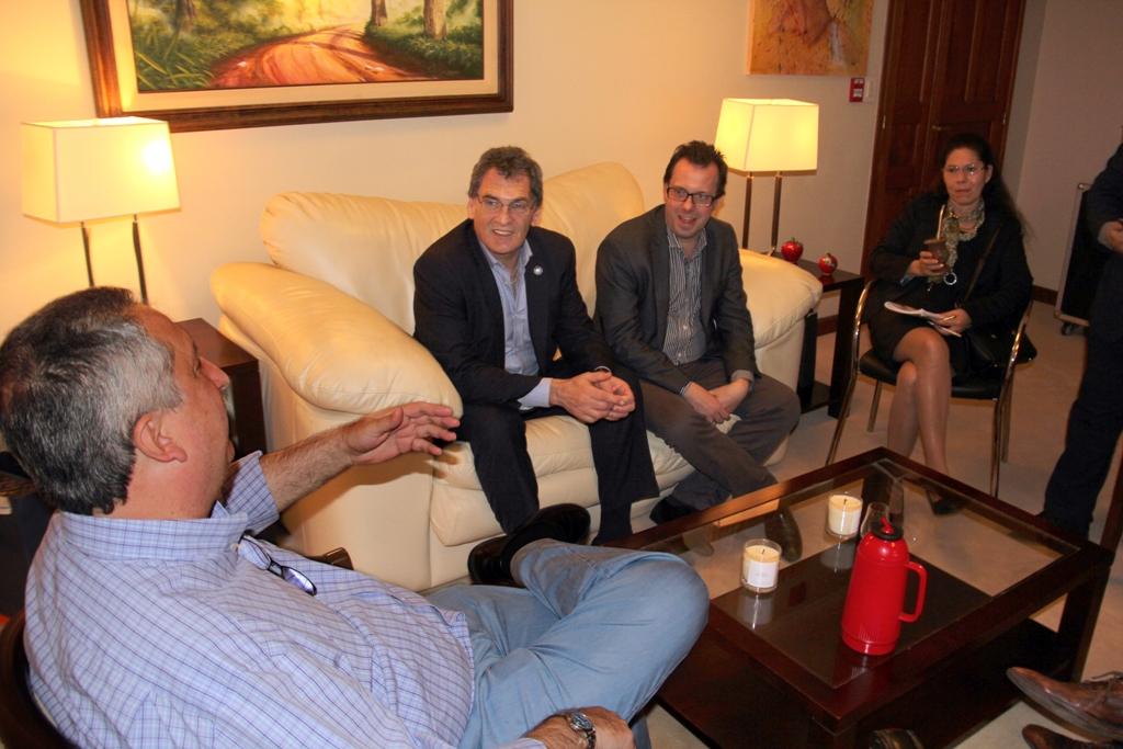 Passalacqua se reunió con el titular de Nación de Derechos Humanos y la nueva delegada en Misiones