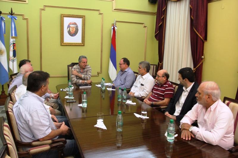 Passalacqua y autoridades de la Cámara Argentina de la Construcción acordaron mutua colaboración