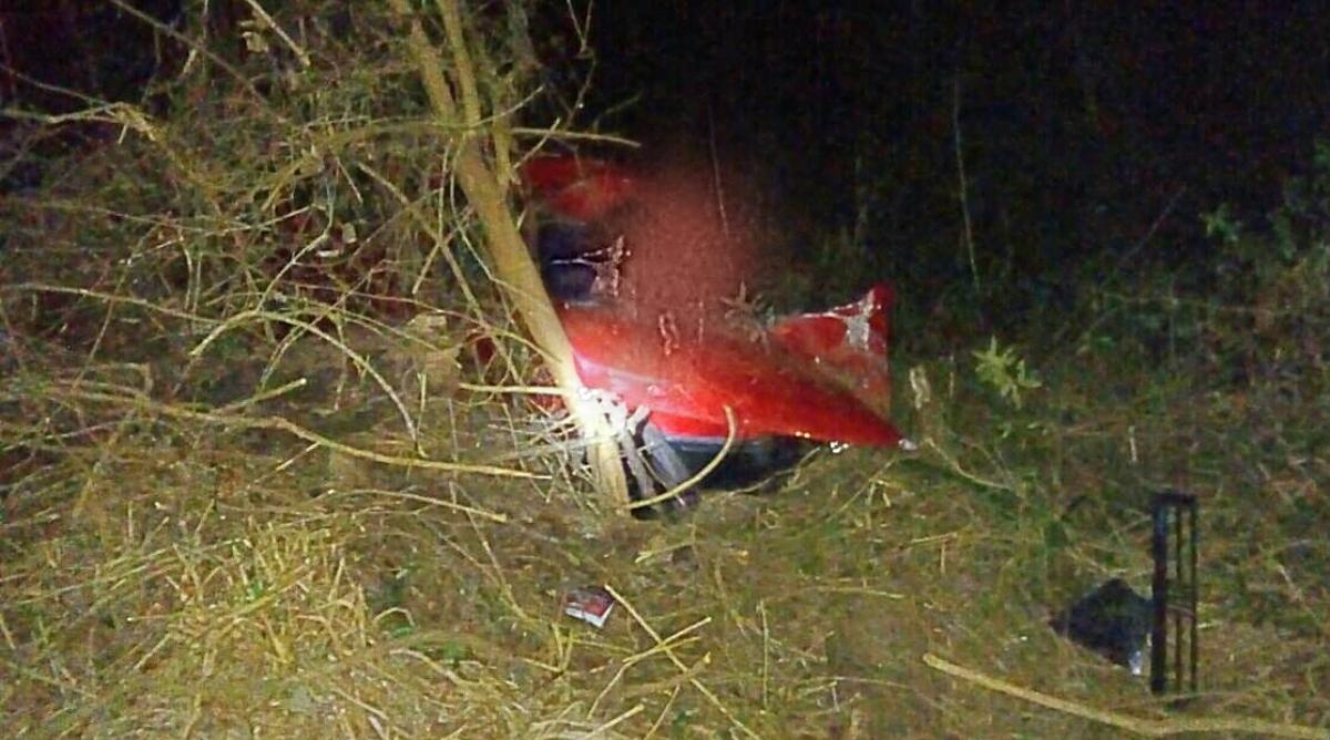 Un hombre falleció al despistarse un auto en Itacaruaré