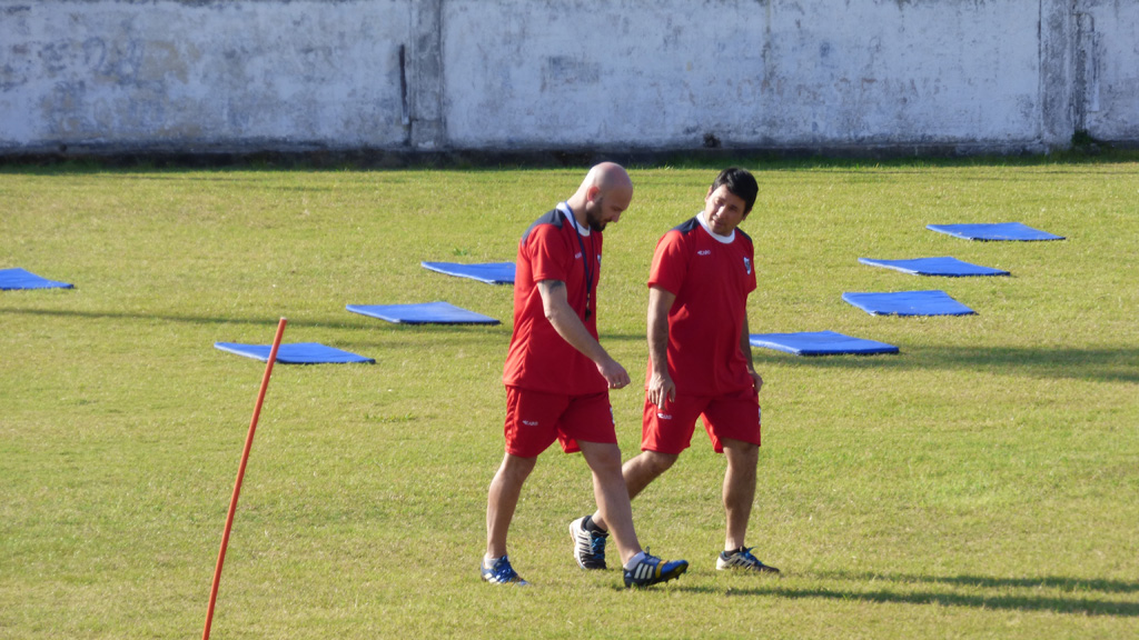 Guaraní arrancó la pretemporada con 21 jugadores y Sebastián Pena a la cabeza
