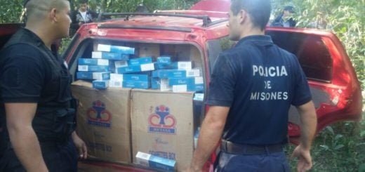 Tras una persecución monte adentro en Jardín, con balacera incluida, decomisaron otro cargamento de cigarrillos contrabandeados