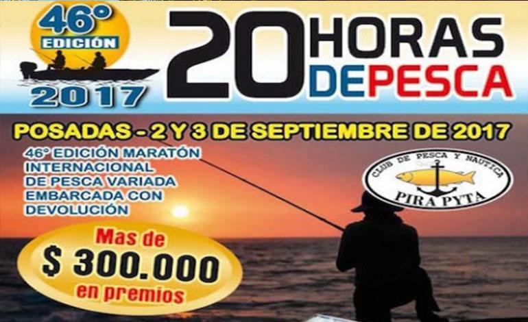 20 Horas de pesca Embarcada y con devolución del Pirá Pytá: inscribite en Compras Misiones