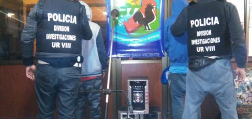 Dos hermanos detenidos por robar en una casa de barrio Unido de San Vicente